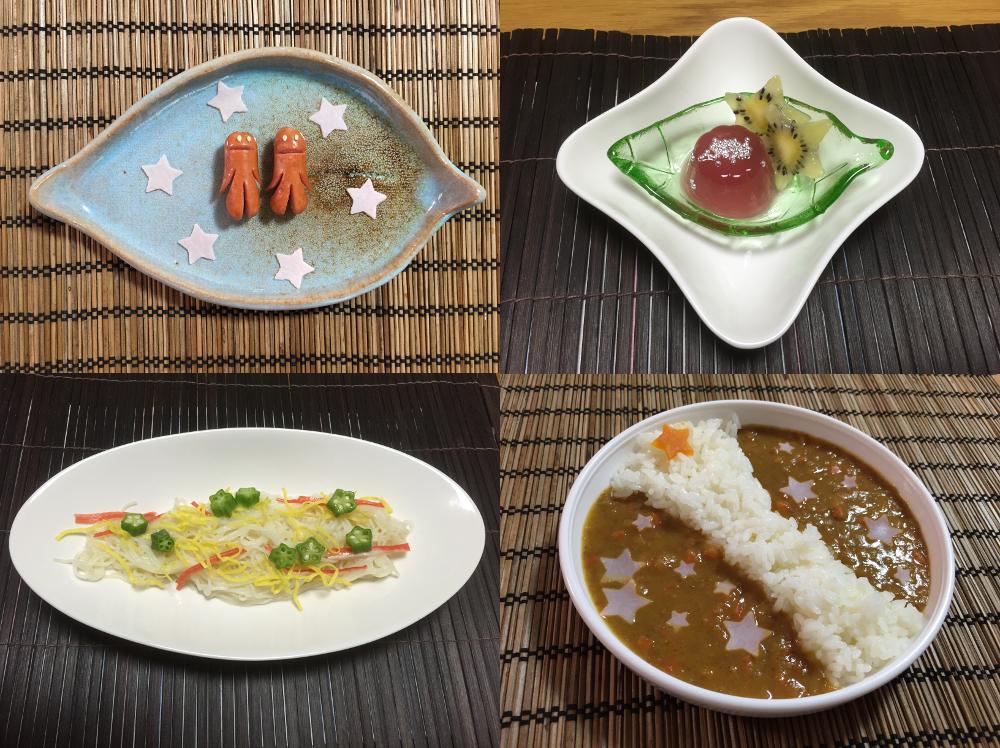 七夕レシピ4つ1